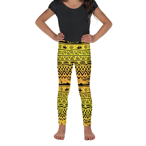 Asante Sana Kids Leggings - Sunrise