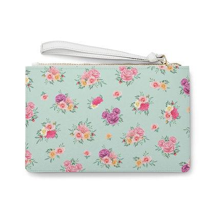 Flower & Garden Clutch Bag