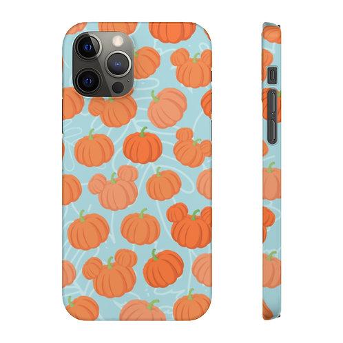 Pumpkin Patch Phone Case - Teal