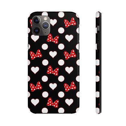 Rock Your Dots Tough iPhone Case - Black