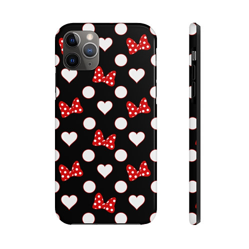 Rock Your Dots Tough iPhone Case - Black
