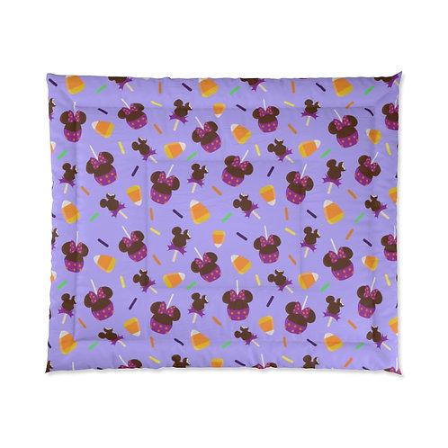 Trick or Treats Comforter - Purple