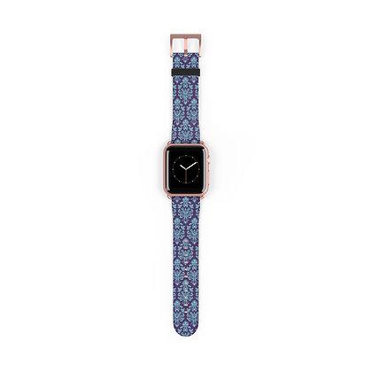 Happy Haunts Apple Watch Band - Purple