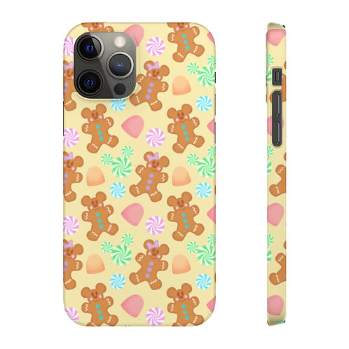 Gingerbread Phone Case - Yellow