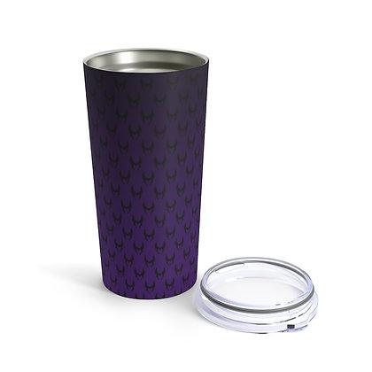 Wicked 20oz Tumbler - Black/Purple