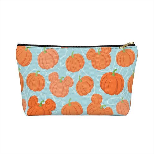 Pumpkin Patch Make-up Bag - Teal