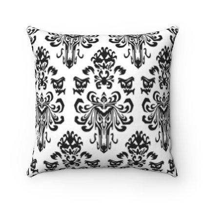Happy Haunts Pillow Case - White