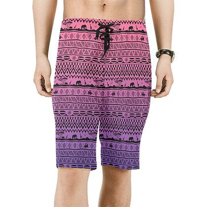 Asante Sana Board Shorts - Sunset