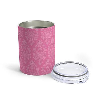 Happy Haunts 10oz Tumbler - Dark Pink