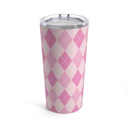 Awareness Argyle 20oz Tumbler