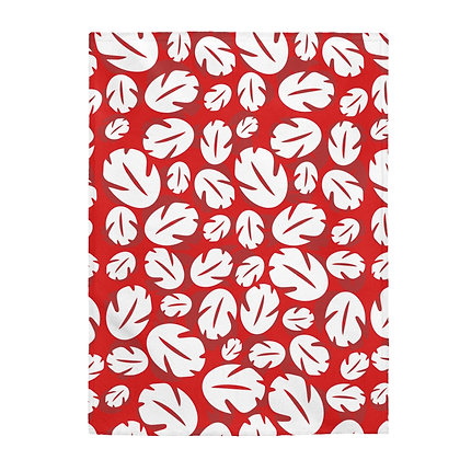 Ohana Plush Blanket  - Red