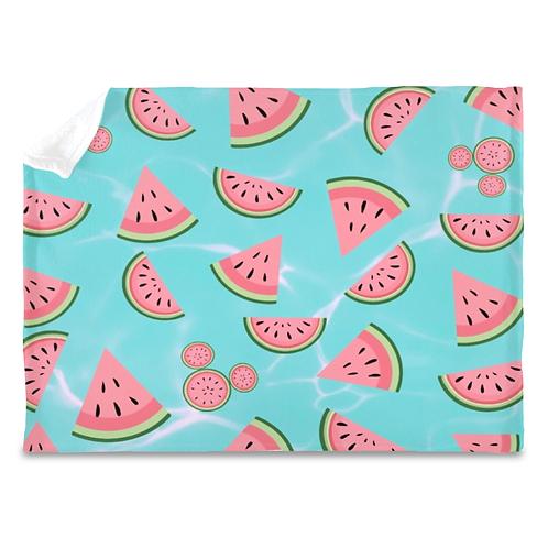 Watermelon Plush Blanket