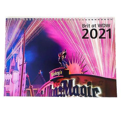 Brit at WDW - 2021 Photo Calendar