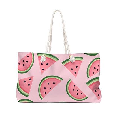 Watermelon Weekender Bag - Pink