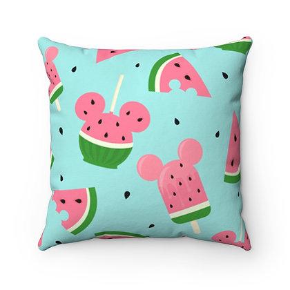 Summer Melon Pillow Case - Blue