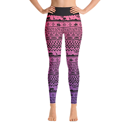 Asante Sana Women's Leggings - Sunset