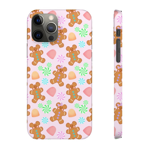 Gingerbread Phone Case - Pink