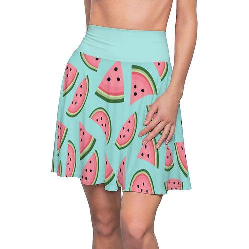 Watermelon Skirt - Teal