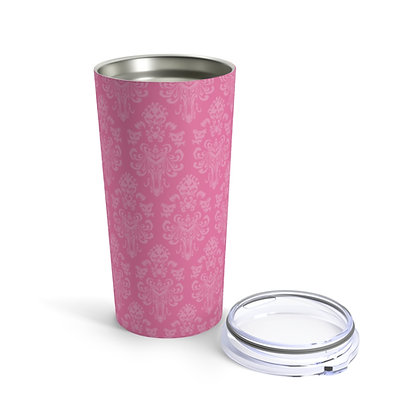 Happy Haunts 20oz Tumbler  - Dark Pink