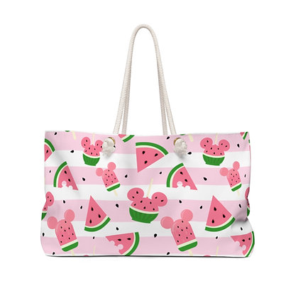 Summer Melon Weekender Bag - Pink