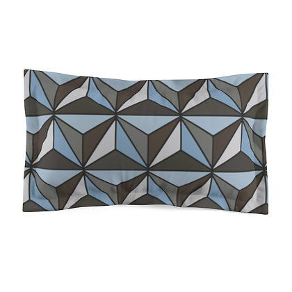 Imagination Pillow Sham  - Silver