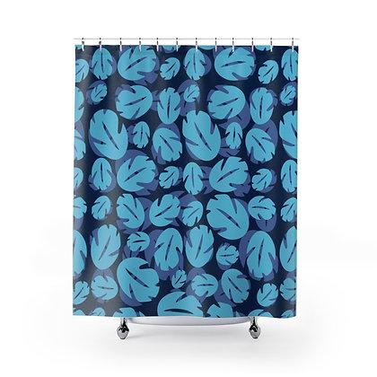 Ohana Shower Curtains - Blue