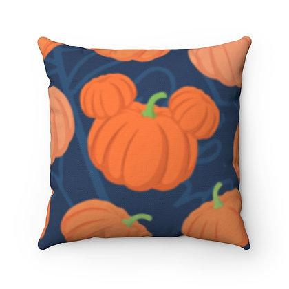 Pumpkin Patch Pillow Case - Navy