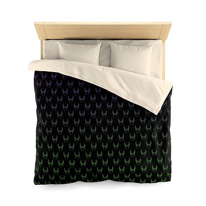 Wicked Duvet Cover - Purple/Green