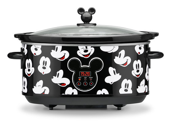 Mickey Mouse 7-Quart Digital Slow Cooker with Sound