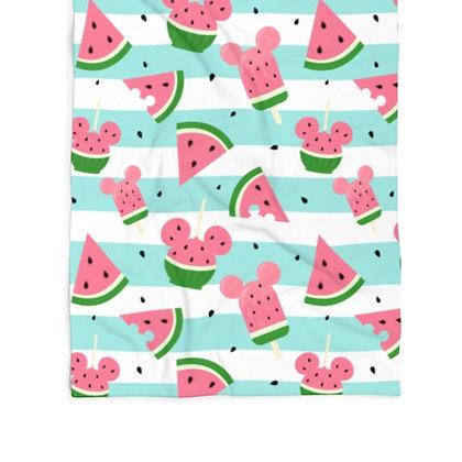 Summer Melon Towel - Blue