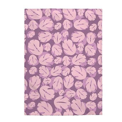 Ohana Plush Blanket  - Pink