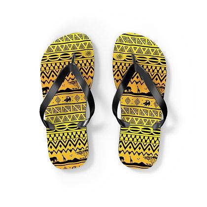 Asante Sana Flip Flops - Sunrise