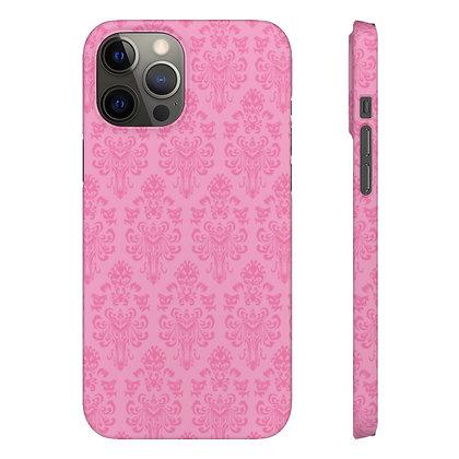 Happy Haunts Phone Case - Pink