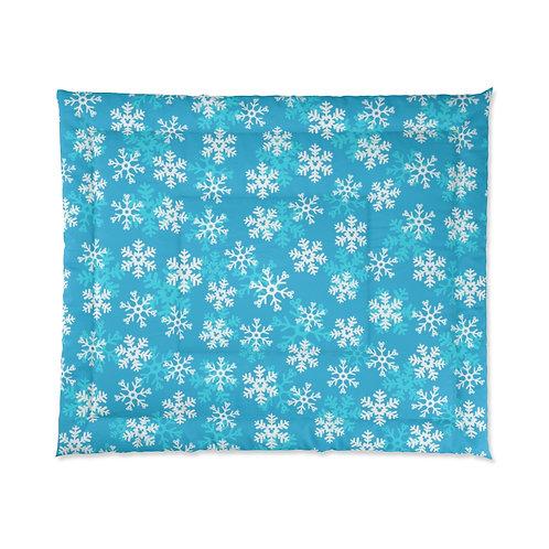 Snoap Flakes Comforter - Blue