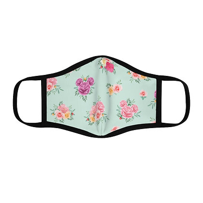 Flower & Garden Fitted Face Mask