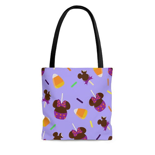 Trick or Treats Tote Bag - Purple