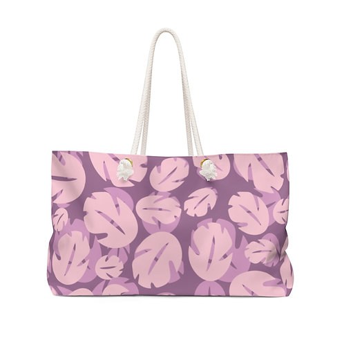 Ohana Weekender Bag - Pink