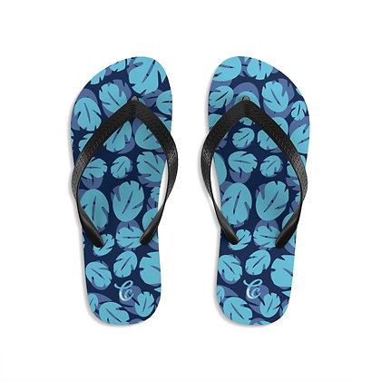Ohana Flip-Flops - Blue