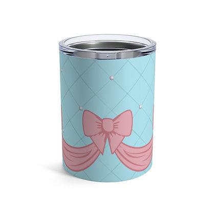Pink Bow 10oz Tumbler
