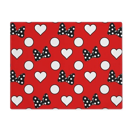 Rock Your Dots Placemat - Red