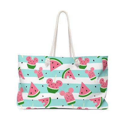 Summer Melon Weekender Bag - Blue