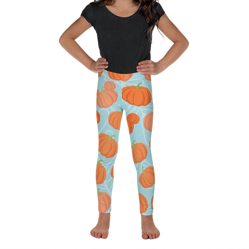 Pumpkin Patch Kids Leggings - Teal