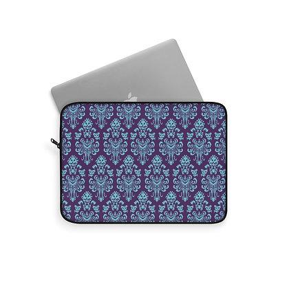 Happy Haunts Laptop Sleeve - Purple