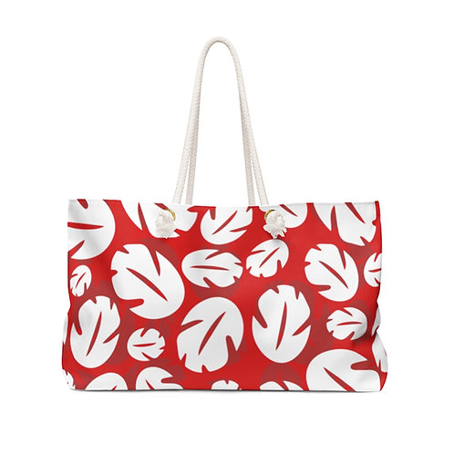 Ohana Weekender Bag - Red