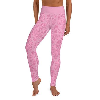 Happy Haunts Women's Leggings - Pink