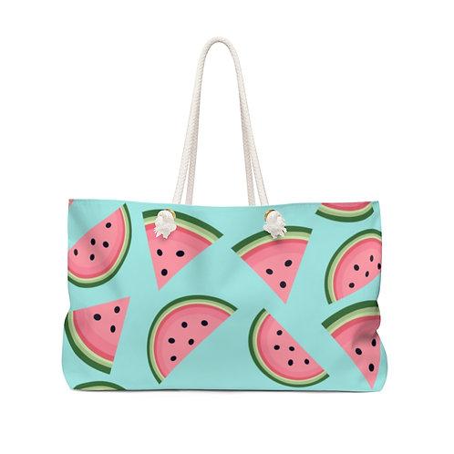 Watermelon Weekender Bag - Teal