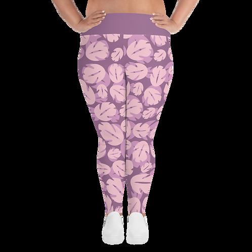 Ohana Plus Size Leggings - Pink