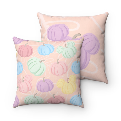 Pumpkin Patch Pillow Case - Purple