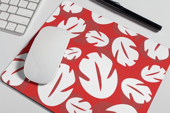 Ohana Mouse Pad - Red