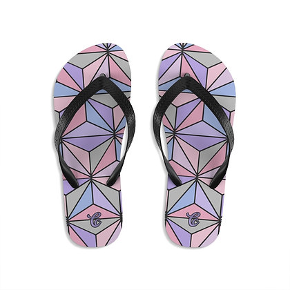 Imagination Flip-Flops - Purple